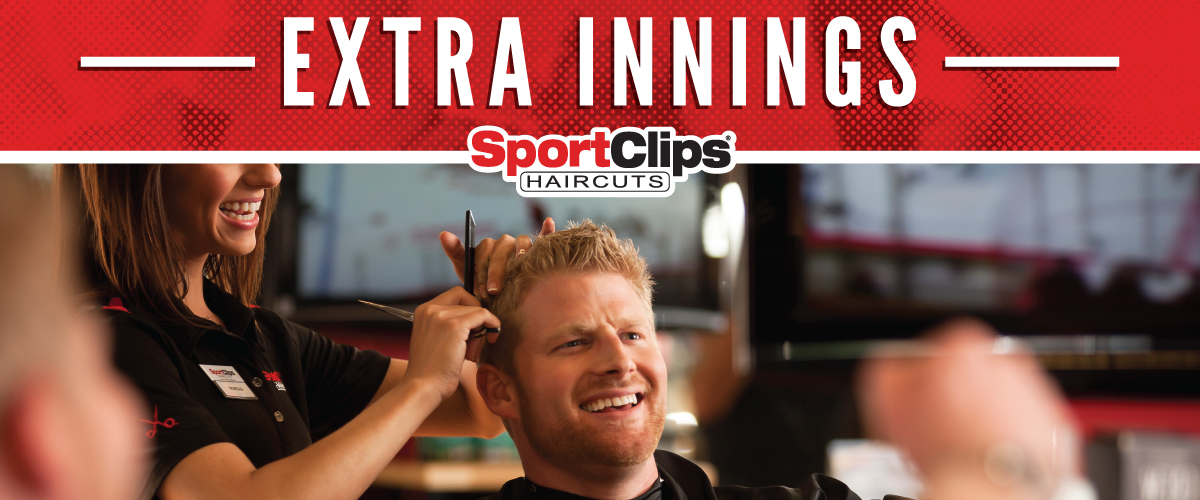 The Sport Clips Haircuts of Harbison Extra Innings Offerings